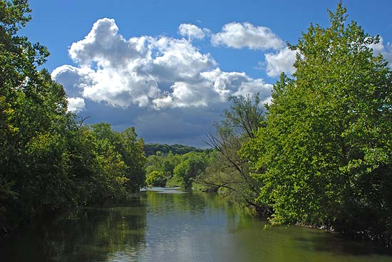 Cuyahoga River in the Summer ©D.J. Reiser