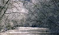 Cuyahoga River in the Winter by Tom Jones